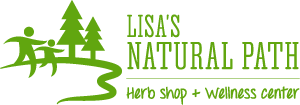 Lisa's Natural Path Logo